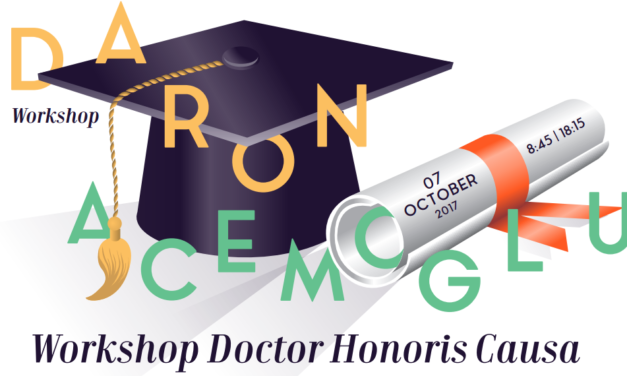 Workshop Doctor Honoris Causa – Daron Acemoglu – 7/10/2017