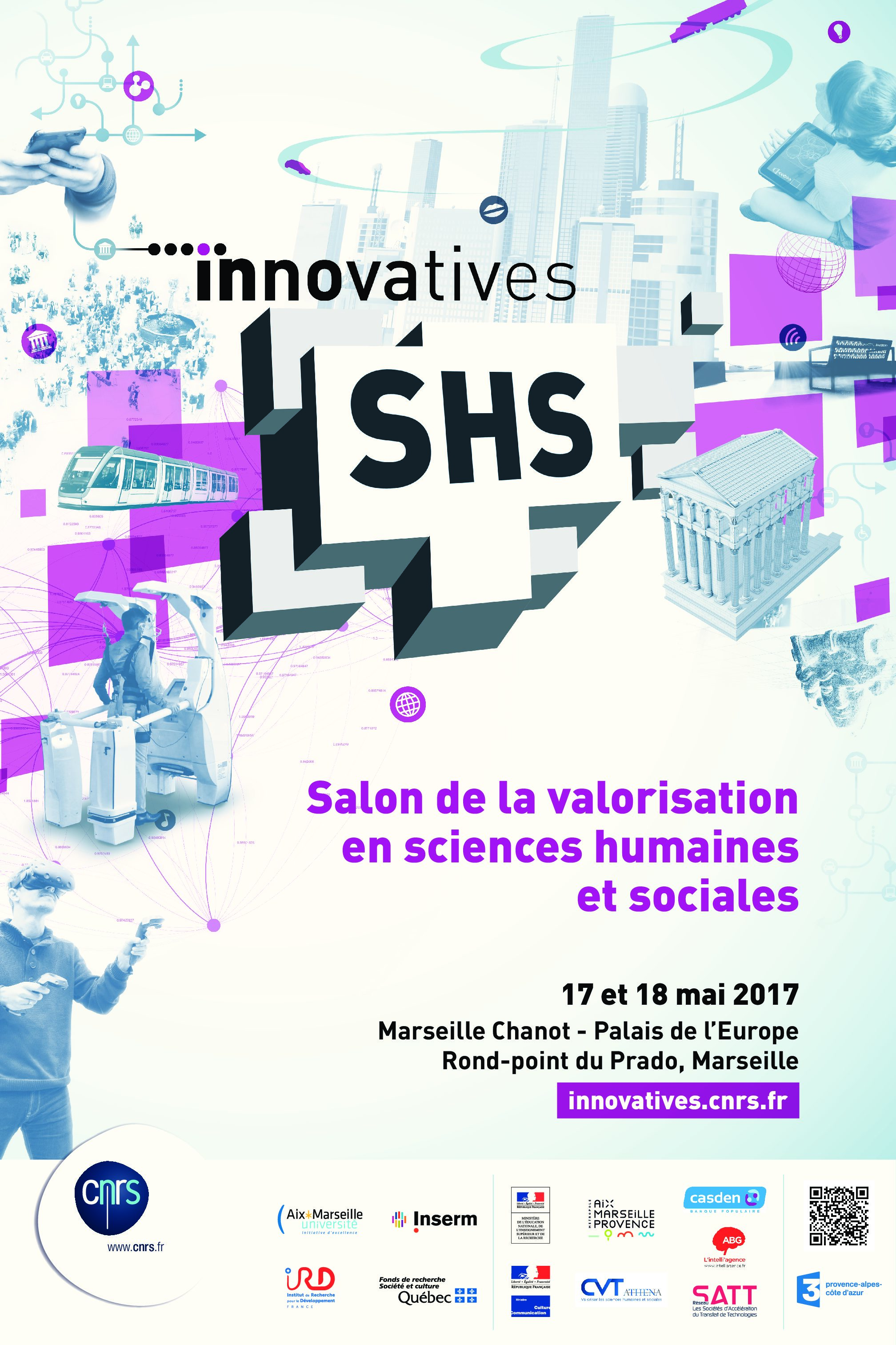 Innovatives SHS 2017 – 17-18/05/2017 – Marseille