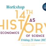 Workshop «History of Economics as History of Science» – 23/06/2017