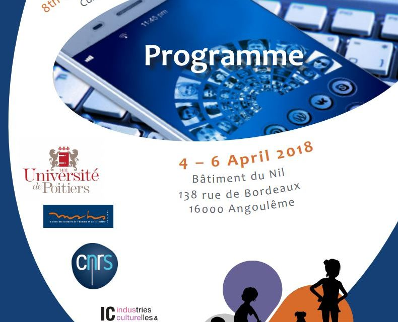 8e édition Colloque international « Child and Teen Consumption » – 4-6/04/2018