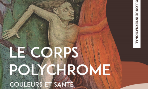 Colloque international « Le corps polychrome » – 14-15-16/03/2018