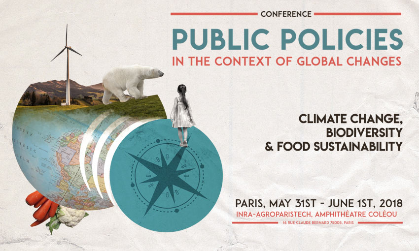 Conférence « Public policies in the context of global changes » – 31/05 & 1/06/2018