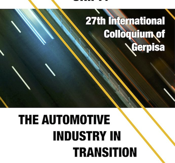 27th International Colloquium of Gerpisa