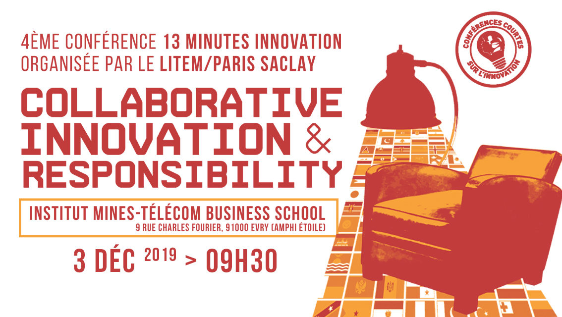 Conférence internationale 13 minutes Innovation – 3/12/2019