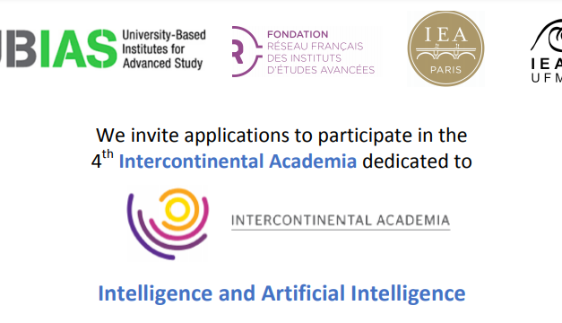 International Academia on « Intelligence and Artificial Intelligence » – Call for Fellows