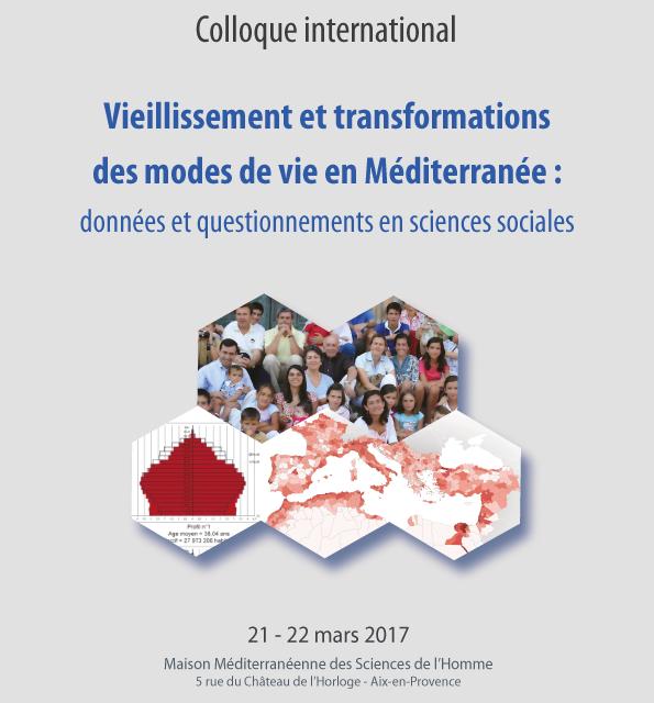 Colloque «Vieillissement et transformations des modes de vie en Méditerranée : données et questionnements en sciences sociales»