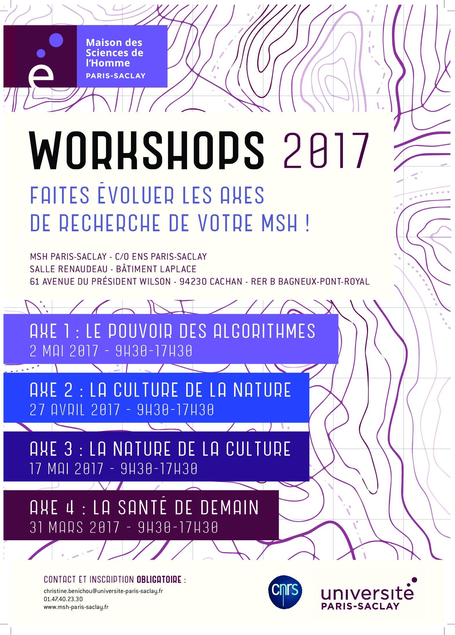 Workshops 2017 – Axes de recherche – MSH Paris-Saclay