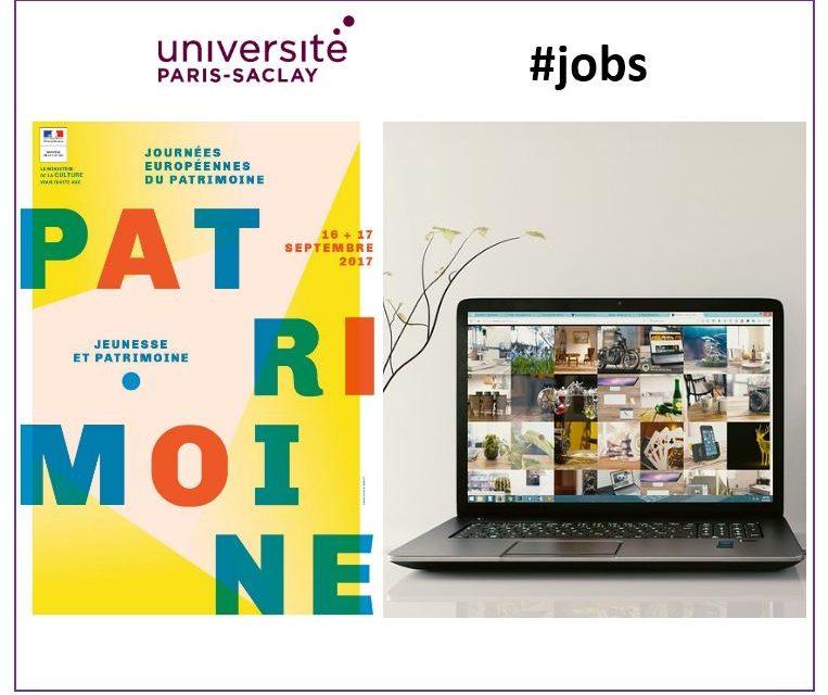 Université Paris-Saclay – Jobs – 08/2017