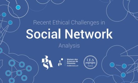 Call for papers – Workshop «recsna17 : Recent ethical challenges in social network analysis» – 15/10/2017