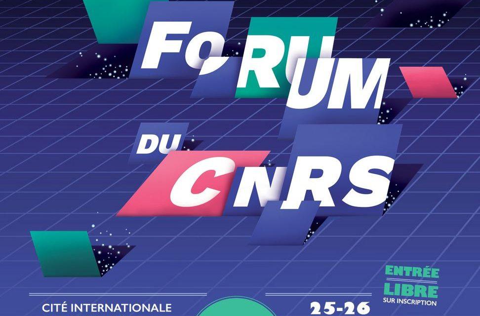Forum du CNRS – 25-26/11/2017