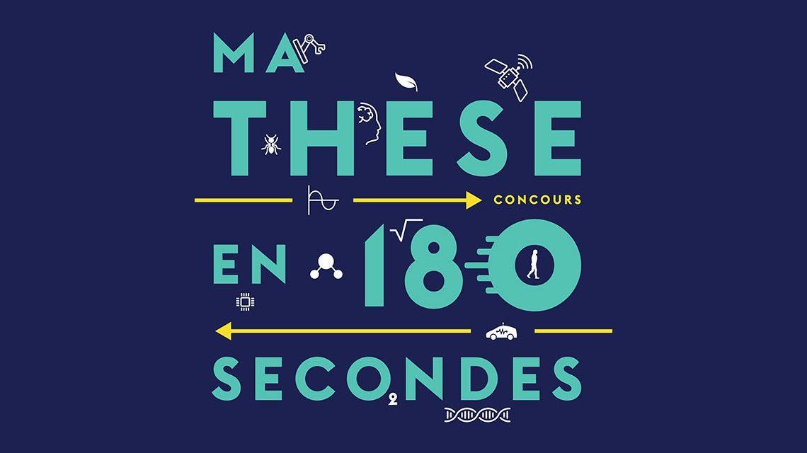 concours «Ma thèse en 180 secondes» – 9/01/2018