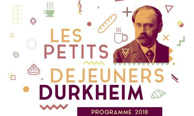 Petits Déjeuners Durkheim 2018- Olivier Wieviorka – 24/01/2018