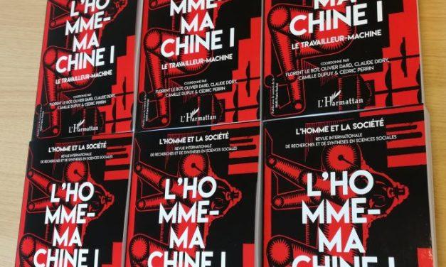 Nouveau n° de la revue L'Homme & la Société : «L'Homme-Machine 1»