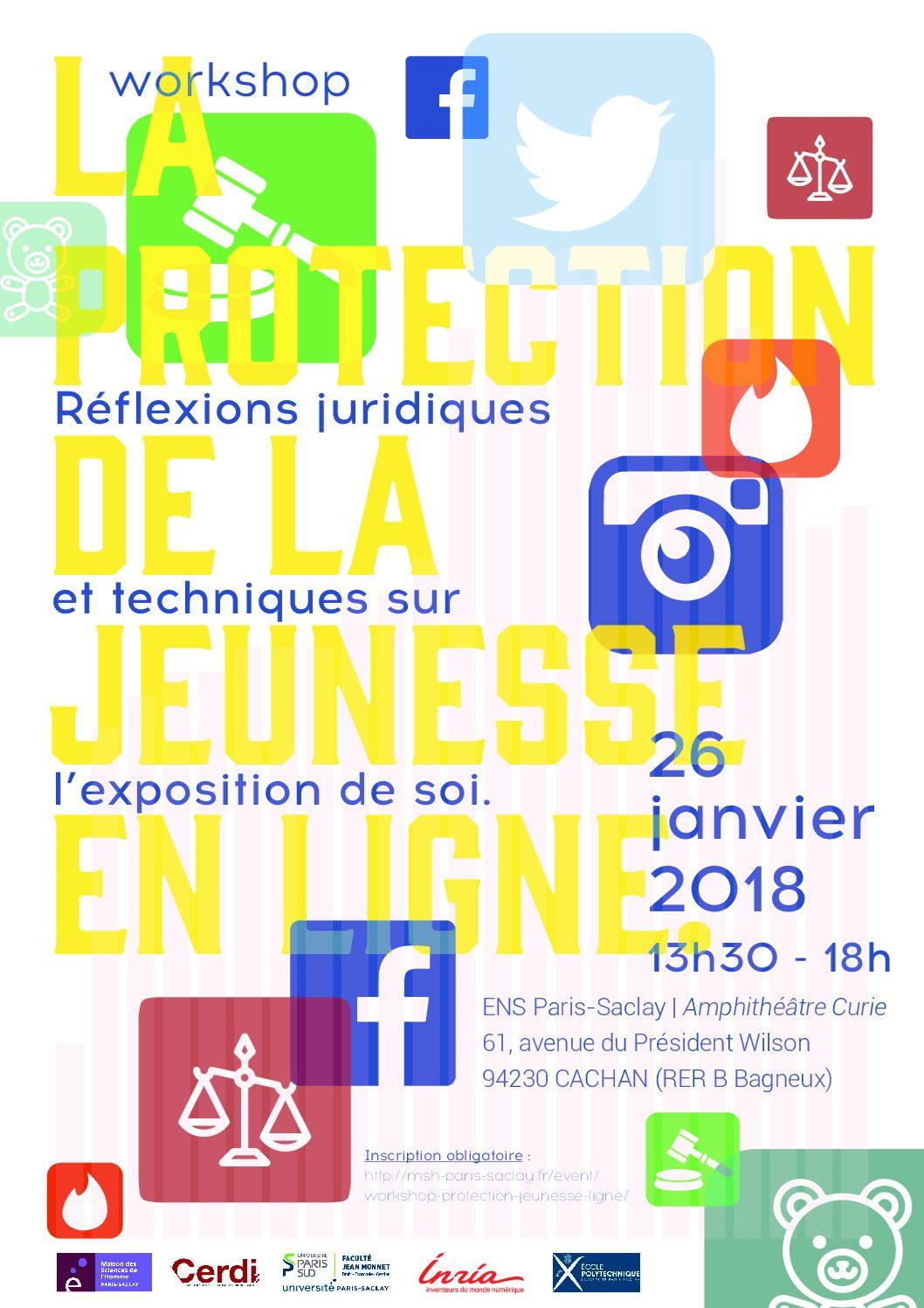 """Workshop """"La protection de la jeunesse en ligne» – 26/01/2018"""