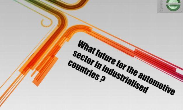 Conférence GERPISA – quel avenir pour l'industrie automobile dans les pays développés – 12/01/2018