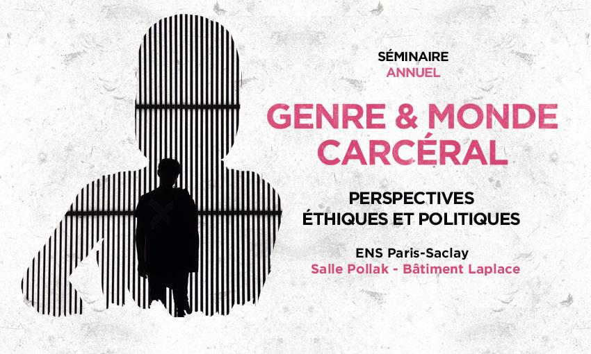 Séminaire Genre et monde carcéral – 12/02/2018