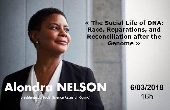 Conférence exceptionnelle d'Alondra Nelson – 6/03/2018
