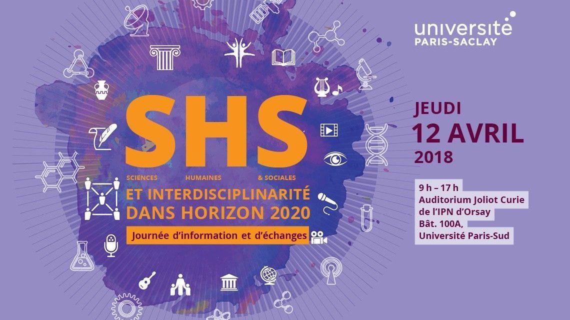 Journée d'information et d'échanges : SHS et interdisciplinarité dans H2020 – 12/04/2018