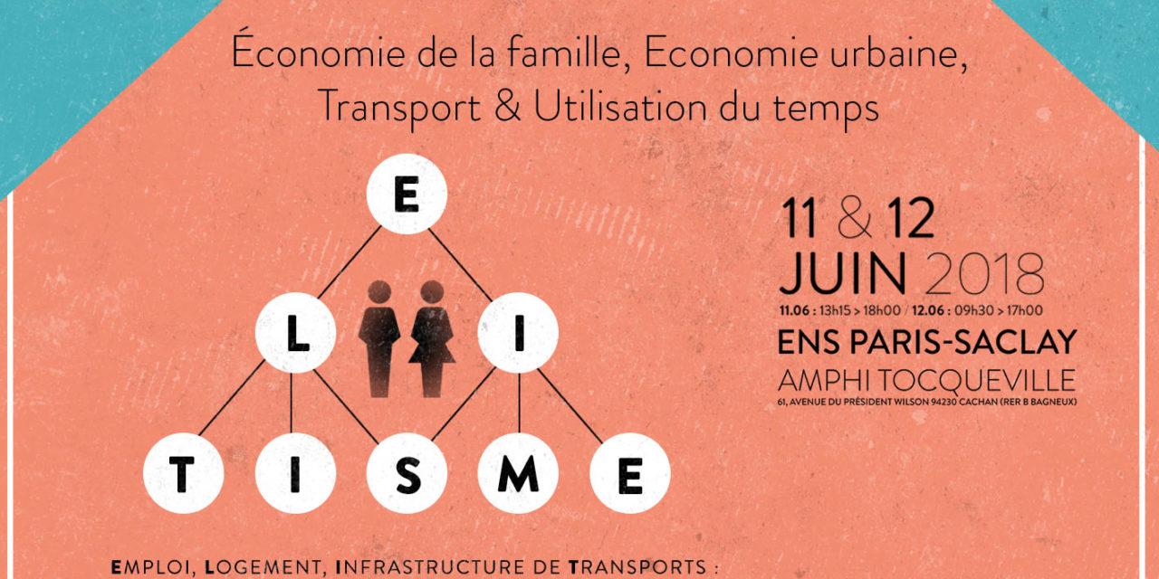 Workshop ANR ELITISME – 11-12/06/2018