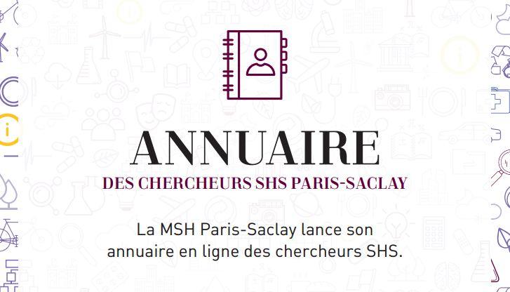 Inscrivez-vous à l'annuaire SHS Paris-Saclay !