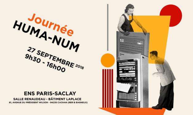Journée Huma-Num – 27/09/2018