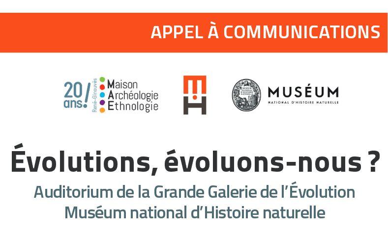 Appel à communications – 15e colloque de la MAE : Évolutions, évoluons-nous ? – 15/09/2018
