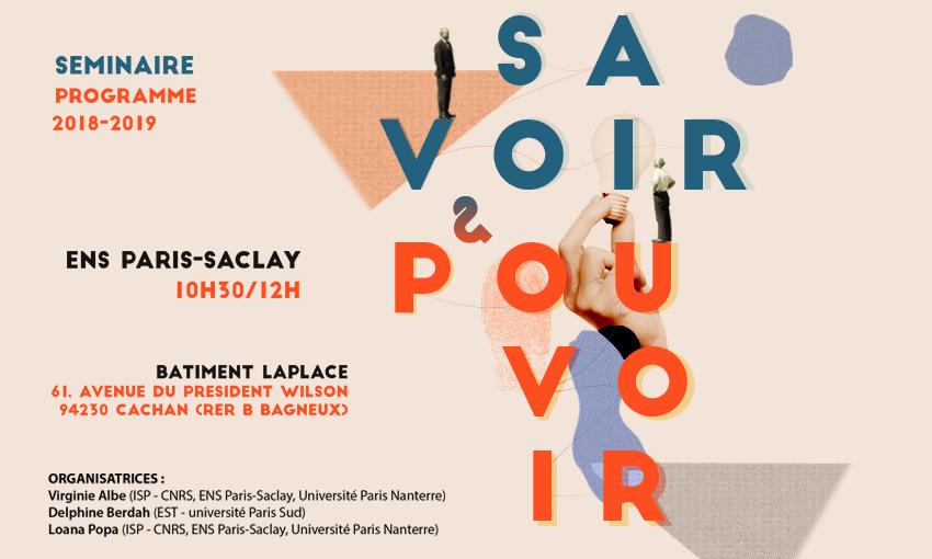 Séminaire Savoir & Pouvoir 2018/2019