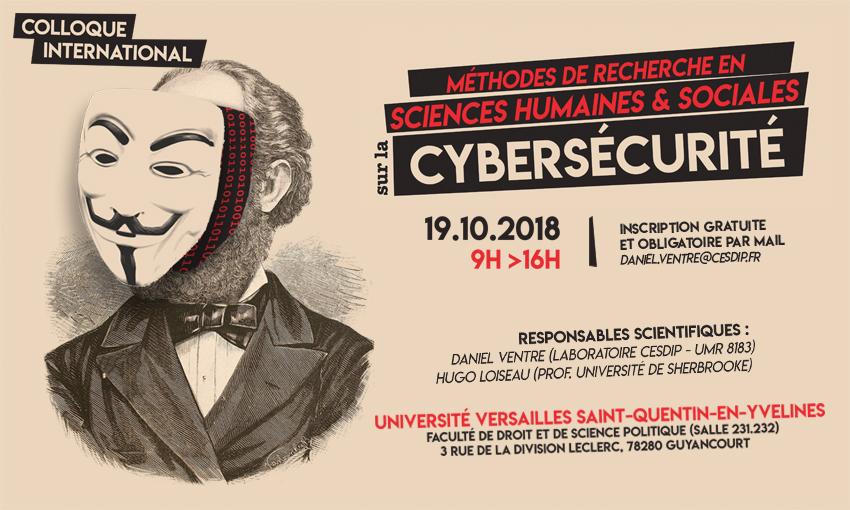 Colloque international «Méthodes de recherche en SHS sur la cybersécurité» – 19/10/2018