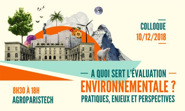 VIDEO – Colloque «A quoi sert l'évaluation environnementale ?» du 10/12/2018