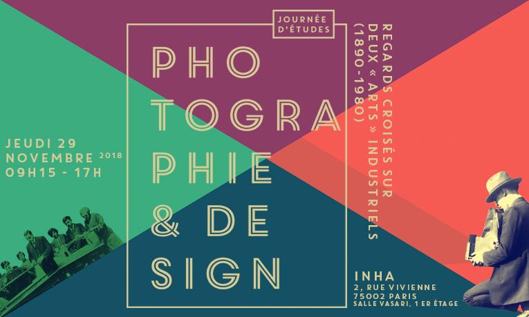 Journée d'études « Photographie & design » – 29/11/2018