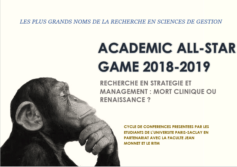 Academic All-Star Game : Recherche en stratégie et management : mort clinique ou renaissance ?