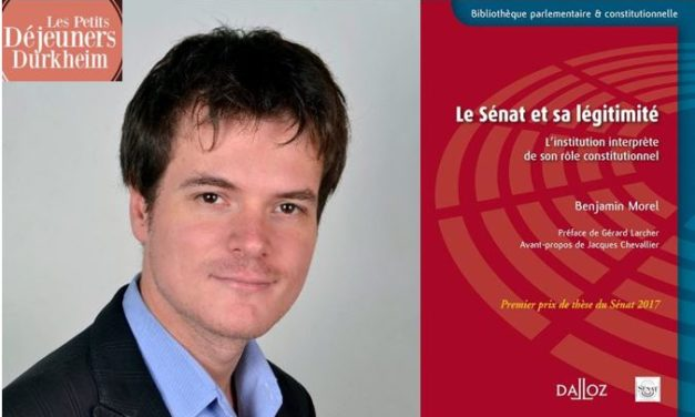 Petits Déjeuners Durkheim – Benjamin Morel – 15/02/2019