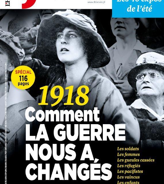 Musiques et sorties de guerres – Article dans L'Histoire n°449 juillet/août 2018