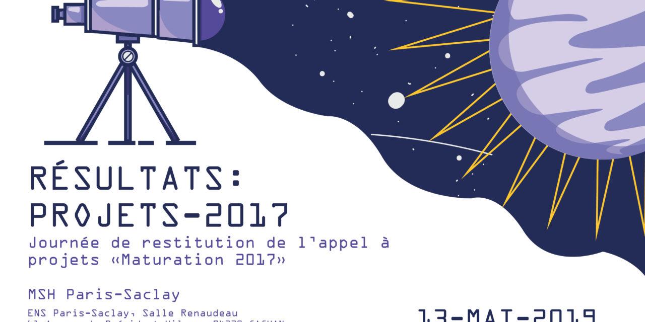 Journée de restitution des projets Maturation 2017 MSH Paris-Saclay – 13/5/2019
