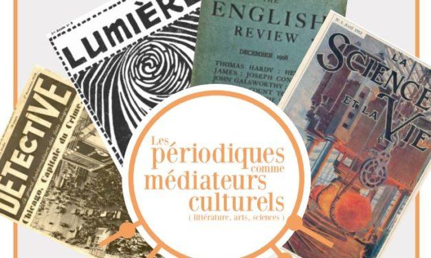Nouveau séminaire Pélias : les périodiques comme médiateurs culturels