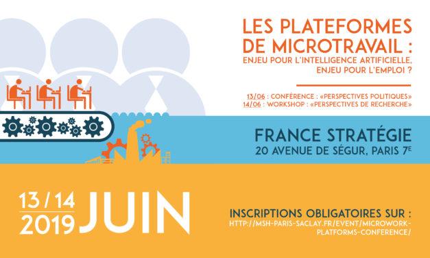 Microwork platforms Conference – 13-14/06/2019