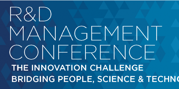 R&D Management Conference – 17-21/06/2019