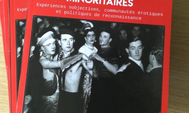 Sexualités minoritaires – Revue l'Homme & la Société n°208 – vient de paraître
