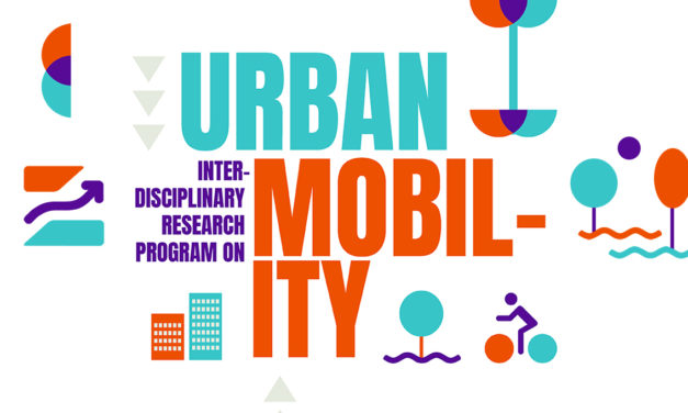 Interdisciplinary Research Program on Urban Mobility – 16/9 – 4/11/2019