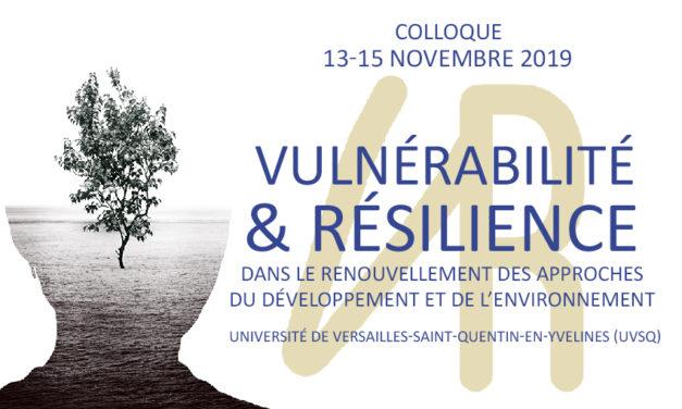 Vidéo – Colloque international «Vulnérabilité et Résilience»