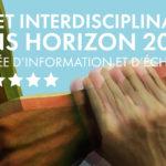 Journée d'information et d'échanges : SHS et interdisciplinarité dans H2020 – 4/07/2019