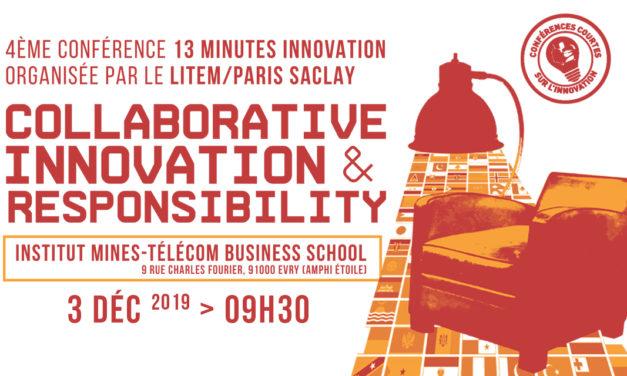 Conférence internationale 13 minutes Innovation – 3/12/2019
