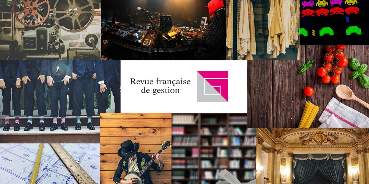 Appel à contributions  RFG «Le management des industries créatives» – 30/04/2020