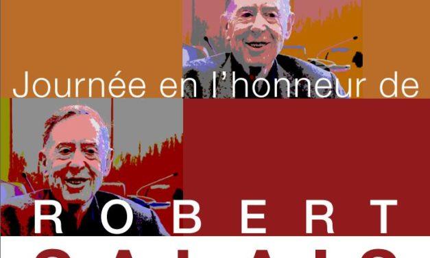 Compte-rendu des Journées en l'honneur de Robert Salais