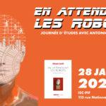 Journée d'études « En attendant les robots » avec Antonio Casilli – 28/01/2020
