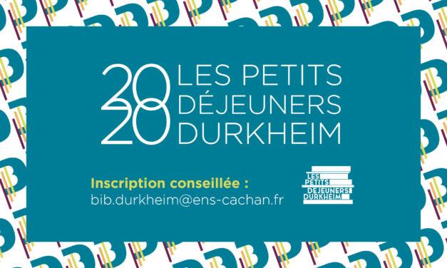 Reporté / Petits Déjeuners Durkheim – Le piège de l'employabilité – 20/03/2020