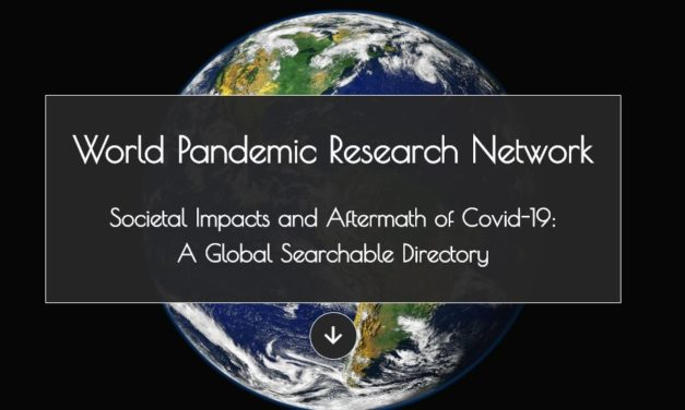 chargé.e de mission analyses et rapport –  World Pandemic Research Network (WPRN)