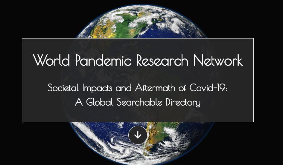 chargé.e de mission analyses et rapport –  World Pandemic Research Network (WPRN)