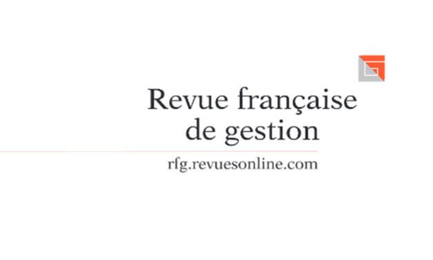 Appel à contribution Revue Française de Gestion – 15/12/2020