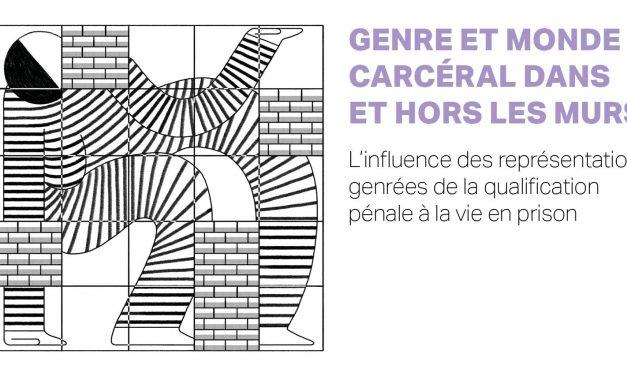 SÉMINAIRE GENRE ET MONDE CARCÉRAL – 7/12/2020